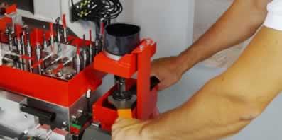 CNC Bearbeitungszentrum - GANNOMAT ProTec - Optionen